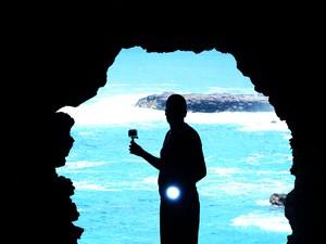 Além das estátuas, Ilha também se destaca pela natureza   (Foto: Álvaro Silva Ferrari/VC no G1)