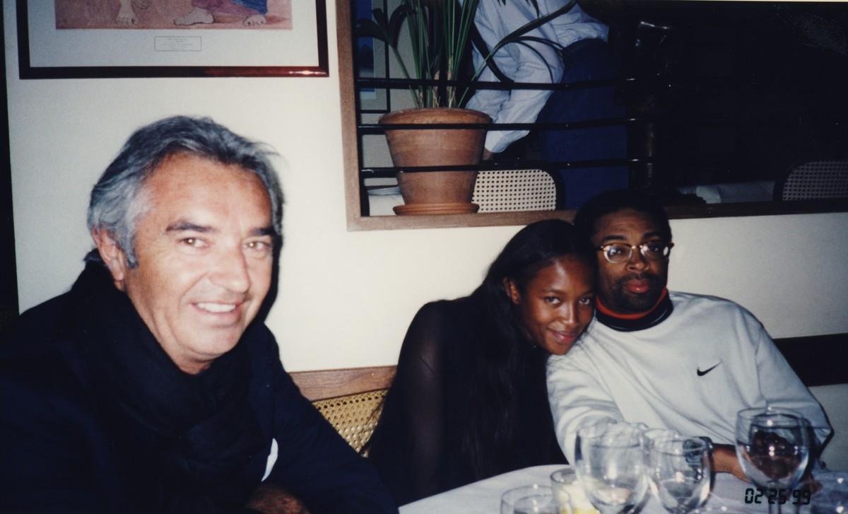 Naomi Campbell e Spike Lee. (Foto: Divulgação)