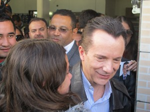 Russomanno visita Marsilac nesta sexta-feira (Foto: Márcio Pinho/G1)