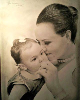 Artista se dedica ao desenho realista há dois anos (Foto: Thales Vasconcelos/Arquivo pessoal)