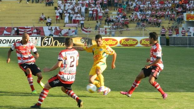 Mirassol x Linense (Foto: Marcos Lavezo/GloboEsporte.com)