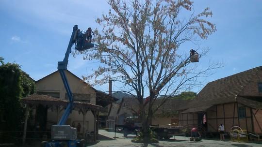 SC espera entrar para Guinness com  a maior árvore de páscoa do mundo