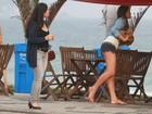 Juliana Paes, Deborah Secco, entre outras beldades, apostam no short e colocam as pernas de fora