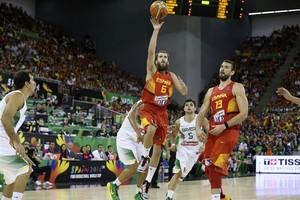 Sergui Rodriguez é o representante espanhol dos barbudos da Copa do Mundo  (Foto: Divulgação/FIBA)