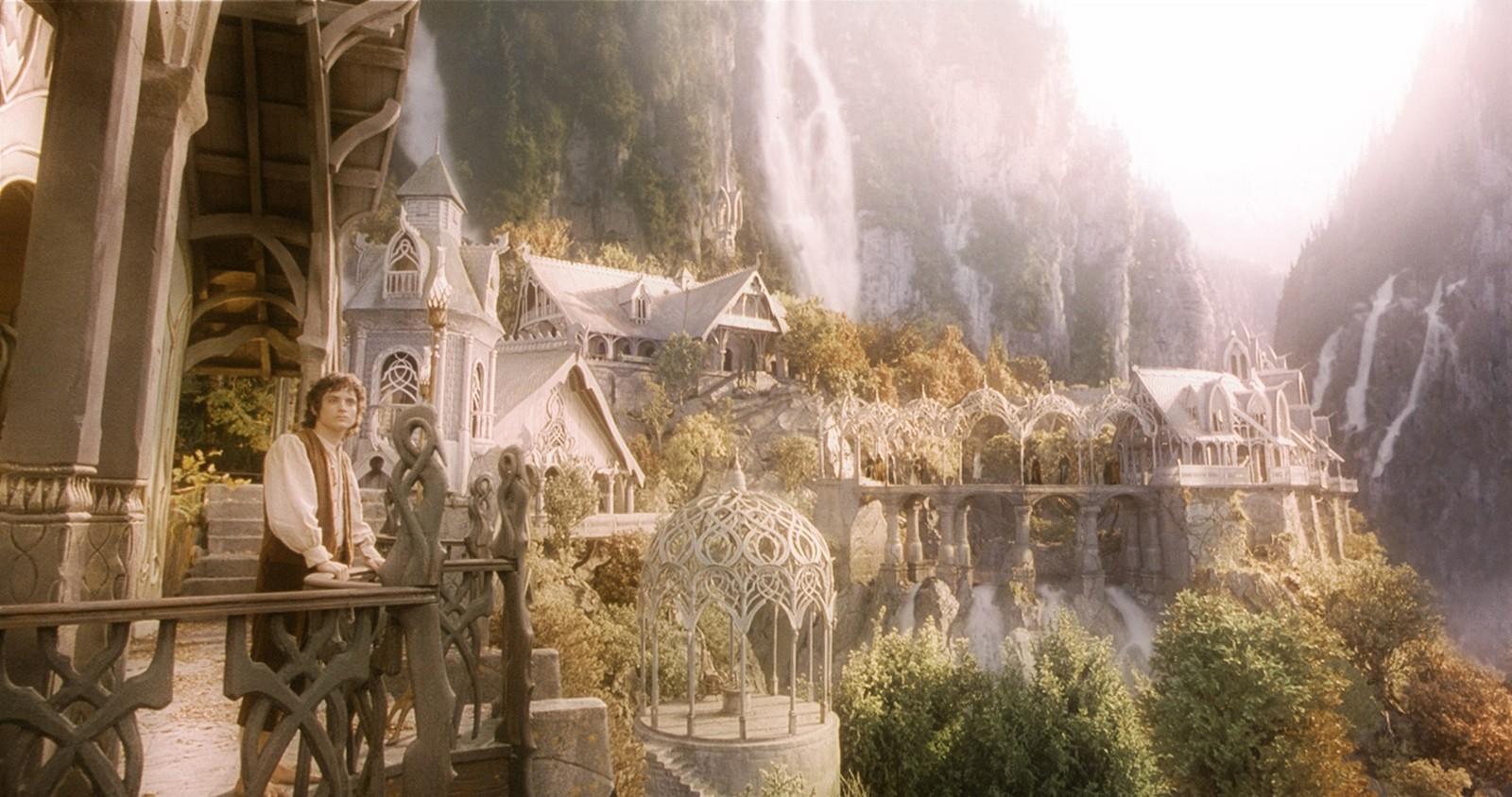 Valfenda dos filmes 'O Senhor dos Anéis' e 'O Hobbit' (Foto: Reprodução)