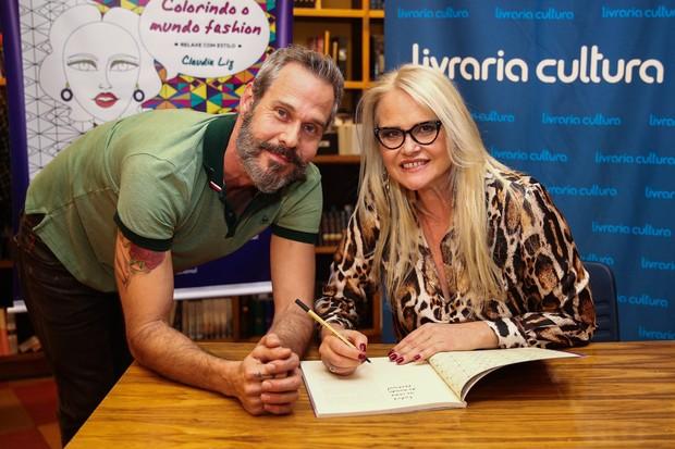Nico Puig e Claudia Liz (Foto: Manuela Scarpa / Foto Rio News)