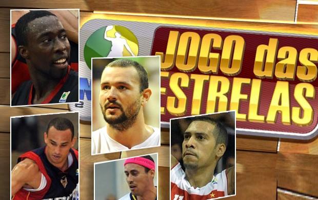 jogo das estrelas nbb basquete (Foto: Editoria de Arte/Globoesporte.com)