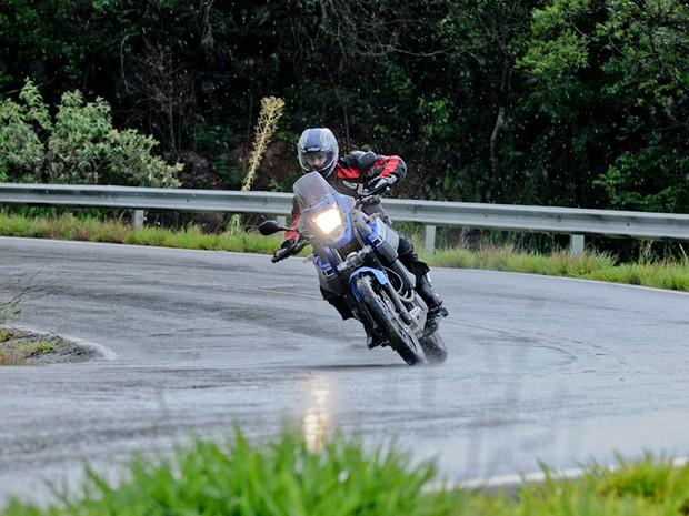 Yamaha; XT 660Z; Ténéré; lançamento; moto; motocicleta; Brasil (Foto: Raul Zito/ G1)