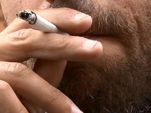 Tabagismo está ligado a 50 tipos de doenças, alerta o Ministério da Saúde (Foto: Reprodução/EPTV)