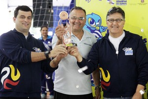 Mogi das Cruzes Bronze Jogos Regionais de Caraguatatuba 2014 (Foto: Cleomar Macedo)