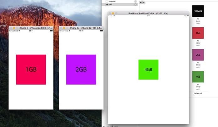Quantidade de memória RAM foi descoberta no XCode (Foto: Reprodução/Hamza Sood)