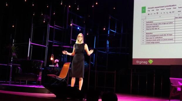 Gina, VP de Marketing e Growth do Duolingo (Foto: Época Negócios)