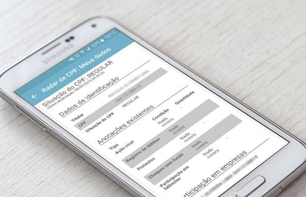 Aplicativo de finanças pessoas 'GuiaBolso' passa a mostrar se há pendências financeiras relacionadas a CPFs. (Foto: Divulgação/GuiaBolso)