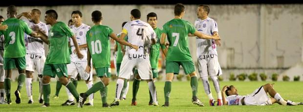 Treze 1 x 0 Nacional de Patos, 17ª rodada do Campeonato Paraibano (Foto: Leonardo Silva / Jornal da Paraíba)