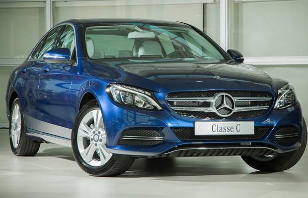 (W205): Avaliação C180 Flex 2016 - Revista AutoEsporte Mercedes-c180-4