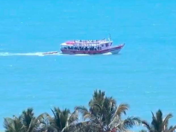 Trancoso, Bahia (Foto: Reprodução/ TV Santa Cruz)