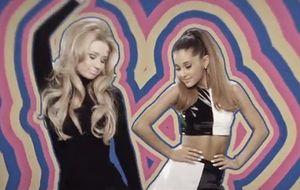 Com visual retrô, Ariana Grande lança clipe de parceria com Iggy Azelea