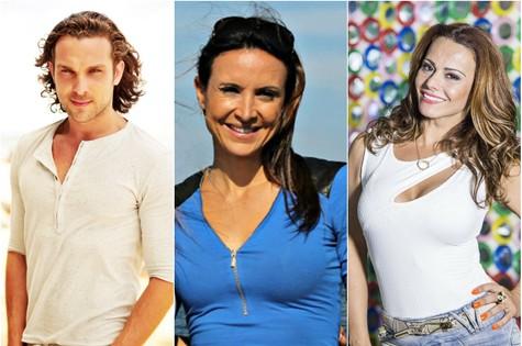 Igor Rickli, Maurren Maggi e Viviane Araújo (Foto: Divulgação)