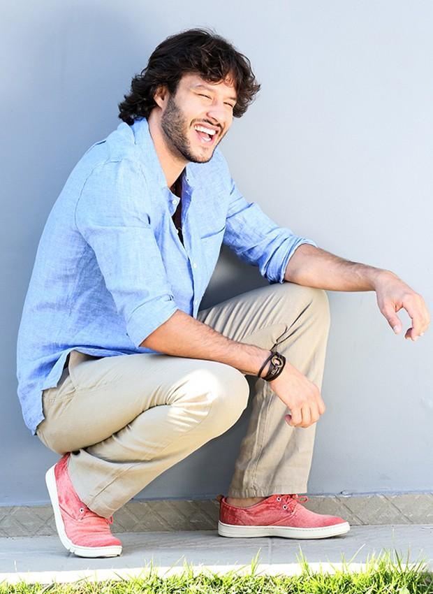 Nando Rodrigues é destaque em 'Haja Coração' e se prepara para estreia de filme francês em que atua (Foto: Neto Fernandez)
