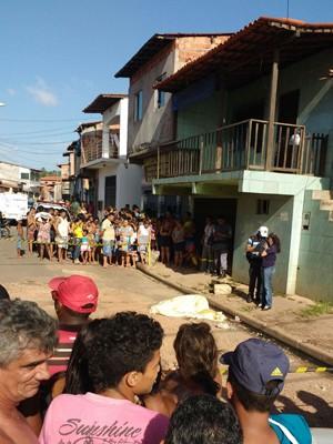 Raimundo Azevedo da Silva Filho foi morto a tiros no bairro do Coroado, em São Luís (Foto: Max Pemüller)