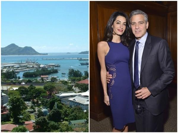 George e Amal Clooney  (Foto: Reprodução/Getty Images)