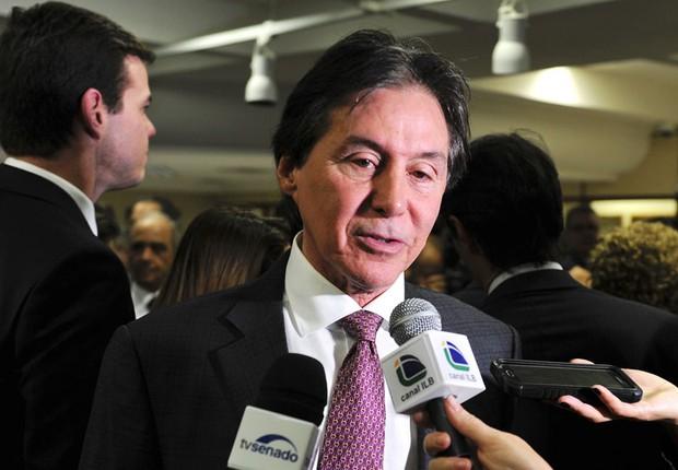 O presidente do Senado, Eunício Oliveira (PMDB-CE) (Foto: Jonas Pereira/Agência Senado)