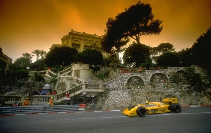 Ayrton Senna formula 1 (Foto: Getty Images)