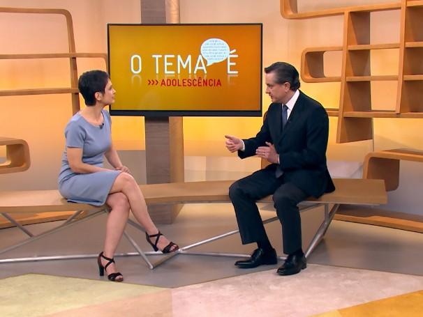 O tema é: adolescência. Médico hebiatra explica a especialização e como é a consulta (Foto: Globo)