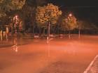 Rio Atibaia transborda e preocupa moradores em distrito de Campinas