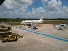Presidente Dilma Rousseff desembarca em Aracaju