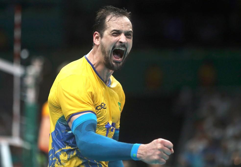 Lipe volta ao Brasil depois de uma temporada no vôlei turco (Foto: Agência Reuters)