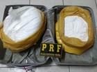 Mulher é detida no RN com 22kg de pó branco; PRF acredita ser cocaína