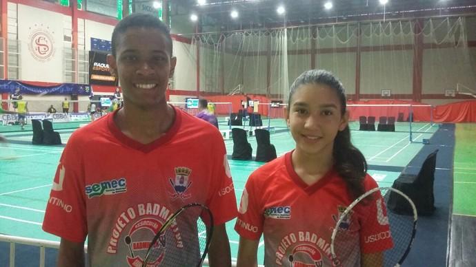 Isabelle Oliveira e Fernando Vieira Júnior (Foto: Arquivo Pessoal)