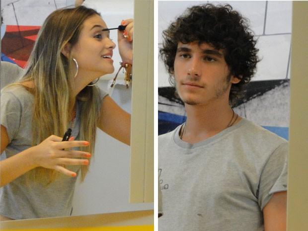 Depois de muito choro, Fatinha se recompõe e avisa que vai conquistar Bruno (Foto: Malhação / Tv Globo)