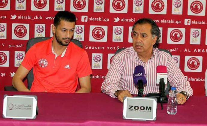 Edson Aguiar técnico brasileiro Catar (Foto: Arquivo pessoal)