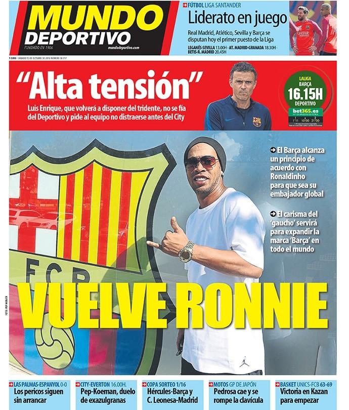 BLOG: Jornal diz que carisma de R10 servirá para expandir a marca do Barça pelo mundo