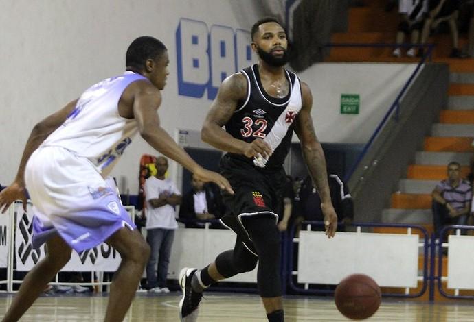 Vasco X Macaé - quinta rodada do estadual de basquete (Foto: Paulo Fernandes/Vasco)