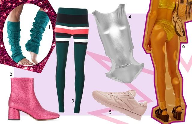1. Toe Sox (US$ 28) 2. Marc Jacobs (R$1555) 3. NO kA' Oi (R$ 690) 4. Moschino ($93) 5. Reebok (US$ 79,99) 6. Hot Pants Sri Clothing (R$89.00)  (Foto: Reprodução)