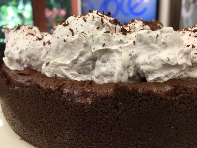 Torta Cremosa de Chocolate (Foto: Mais Você/Gshow)