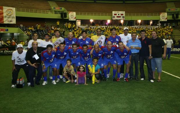 Seleção pernambucana torneio de seleções showbol (Foto: Divulgação / Ricardo Cassiano)