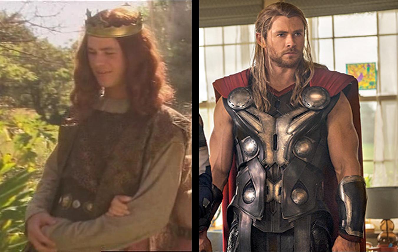 Chris Hemsworth e Thor (Foto: Divulgação)