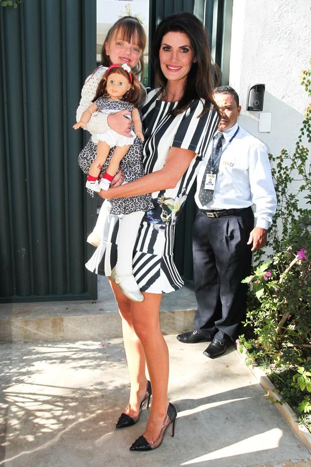 Isabella Fiorentino e Rafa Justus (Foto: Manuela Scarpa / Foto Rio News)