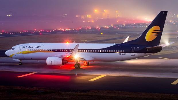 Imagem ilustrativa de aeronave da Jet Airways (Foto: Divulgação)
