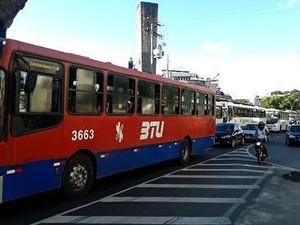 Salvador amanhece sem ônibus nas ruas; sindicato nega greve (Foto: Reprodução)
