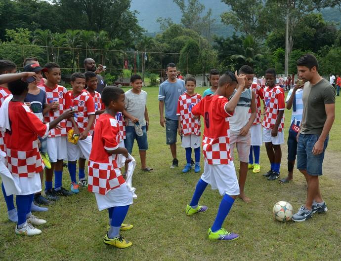 Eduardo da Silva, Flamengo, Croácia (Foto: ANDRÉ DURÃO)