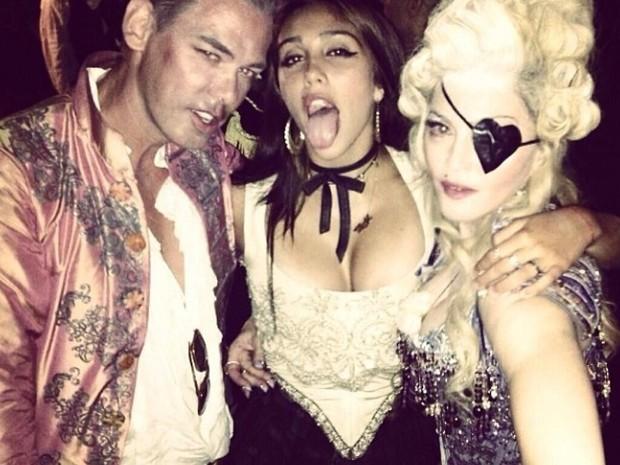 Madonna e Lourdes Maria (Foto: Reprodução Instagram)