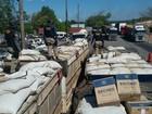 PRF apreende duas carretas com carga avaliada em R$ 6 milhões