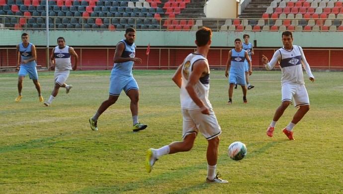 Treino Atlético-AC Arena da Floresta (Foto: Duaine Rodrigues)