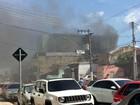 Em Manaus, fogo atinge prédio da Universidade do Estado do AM