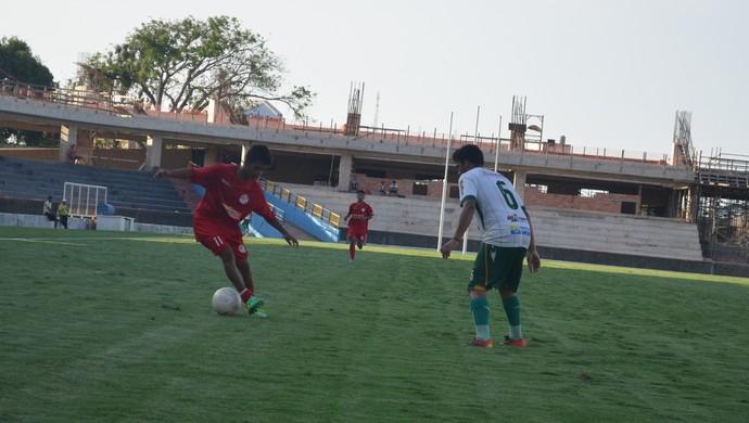 Tapajós venceu o Internacional por 5 a 0, próximo duelo entre as equipes será dia 3 de setembro (Foto: Dominique Cavaleiro/GloboEsporte.com)